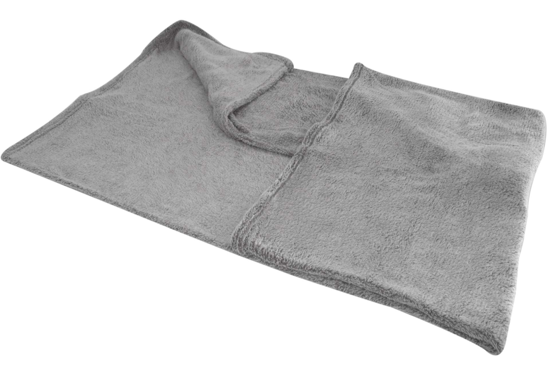 flanell wohndecke grau 200 x 150 cm kuscheldecke sofadecke flanelldecke decke ebay. Black Bedroom Furniture Sets. Home Design Ideas