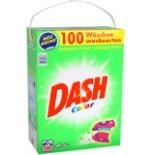 Dash Voll- Waschmittel Color 100 Wäscheladungen 6,5 kg