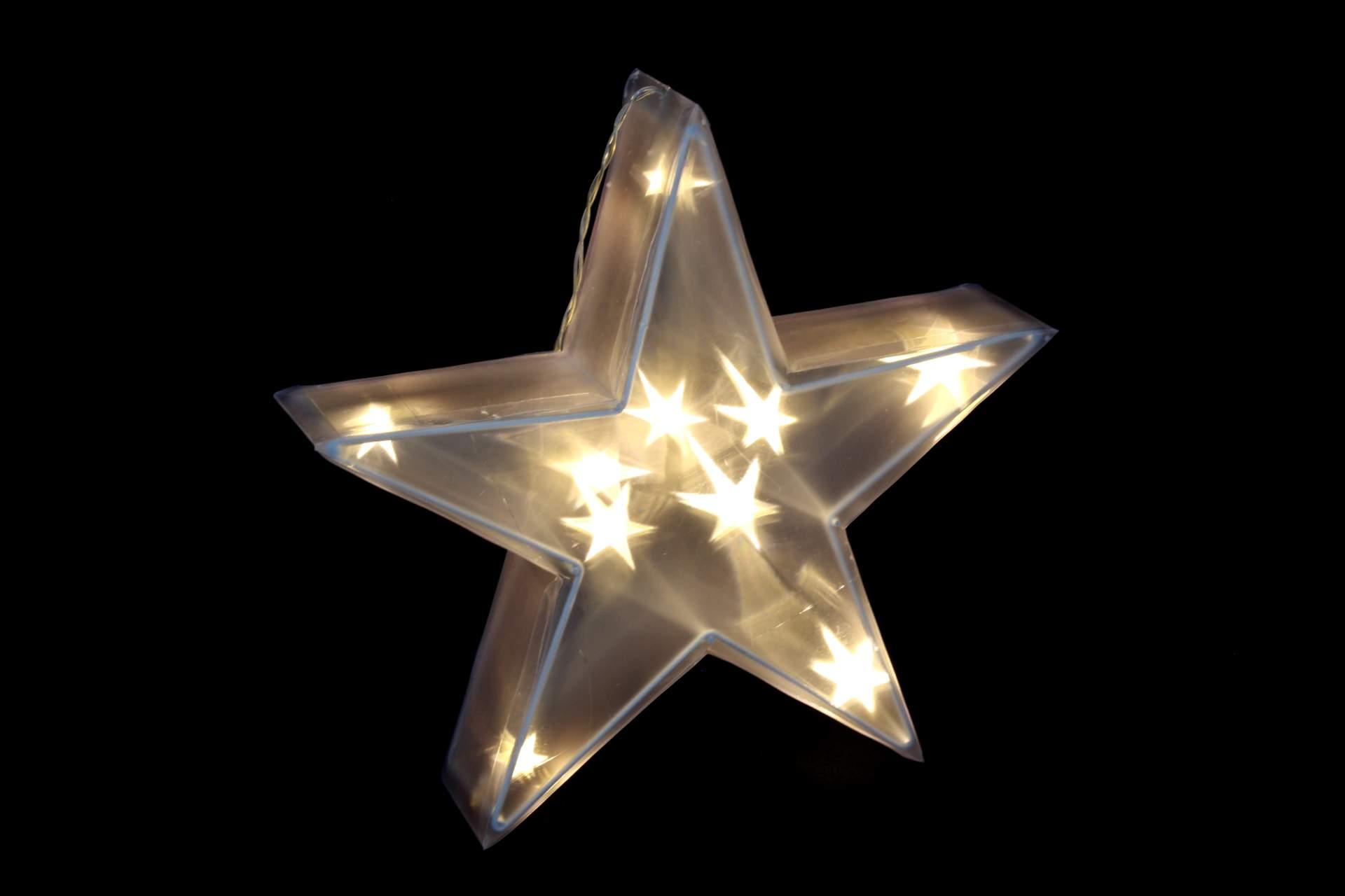 3d stern mit 10 led 30 cm beleuchtung acryl leuchtstern lichterkette hologramm eur 13 89. Black Bedroom Furniture Sets. Home Design Ideas