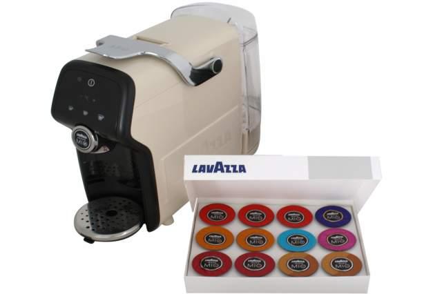 Kaffeemaschine AEG Lavazza LM 6000 in Rot Milchaufschäumer  -> Kaffeemaschine Lavazza