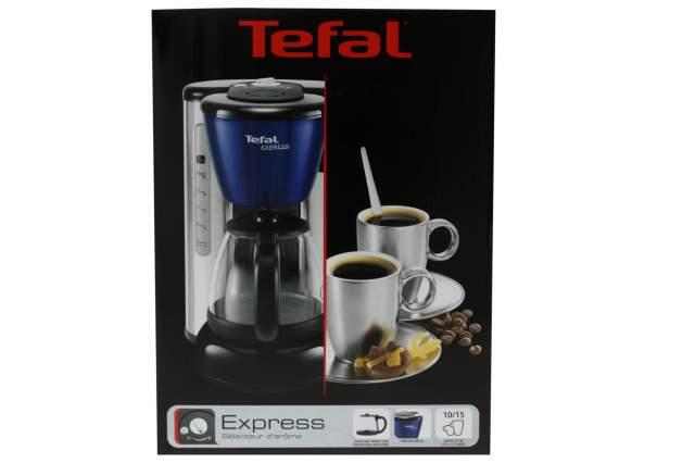 tefal blue express kaffeemaschine 1200 watt f r 10 15. Black Bedroom Furniture Sets. Home Design Ideas