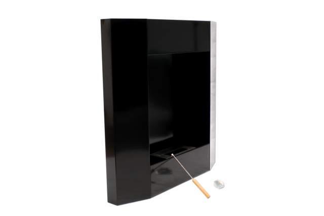 edelstahl gelkamin wandkamin bioethanol kamin ofen 77 cm f r die wandmontage ebay. Black Bedroom Furniture Sets. Home Design Ideas