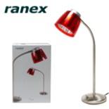 Tischleuchte PIAZZO rot Leuchte Lampe RANEX Tischlampe
