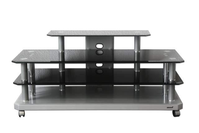 fernsehtisch tv phonotisch glas fernseh regal audio hifi pluto rack phono tisch. Black Bedroom Furniture Sets. Home Design Ideas
