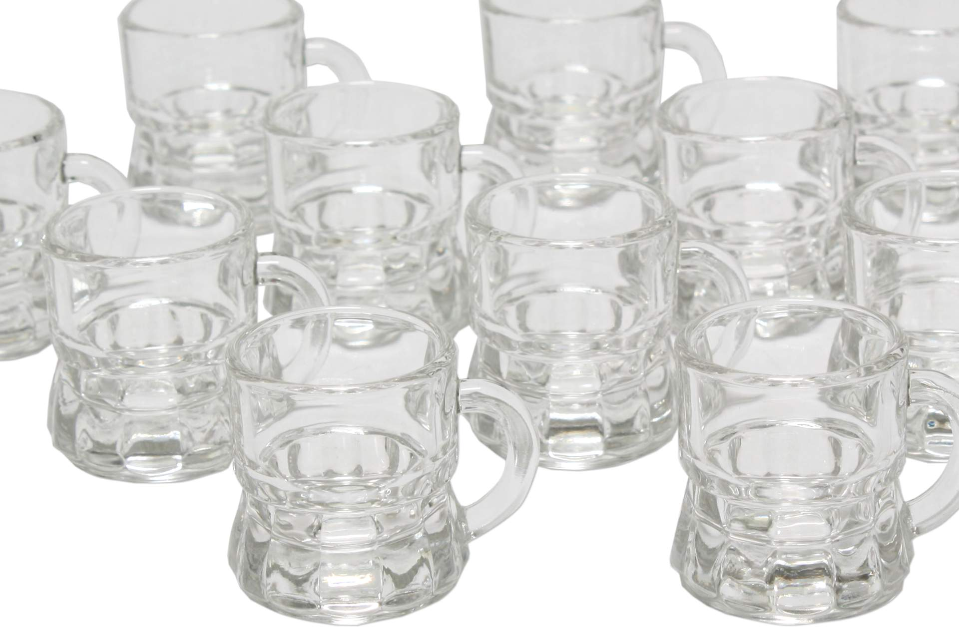 schnapsglas mit henkel 12 er pack 2 cl schluck schnaps spirituosen glas stamper ebay. Black Bedroom Furniture Sets. Home Design Ideas