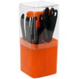 Bistro Besteck Teile orange NIROSTA inkl. Besteckkasten