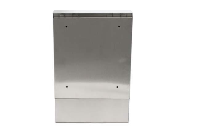 edelstahl briefkasten mit zeitungsfach postkasten briefe zeitung design neu ebay. Black Bedroom Furniture Sets. Home Design Ideas