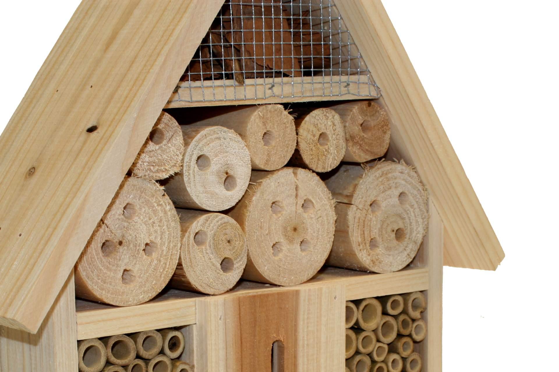 insektenhotel insektenhaus brutkasten nistkasten bienen. Black Bedroom Furniture Sets. Home Design Ideas