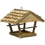 Vogelhaus Futterstelle Erlendach hängend 26 x 20 x 20 cm