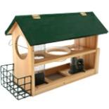 Kynast Futterstelle Vogelhaus 8 in 1 Vogelfutter Haus