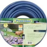 Garten Wasserschlauch Blau- Schwarz 20m 1/2 Zoll