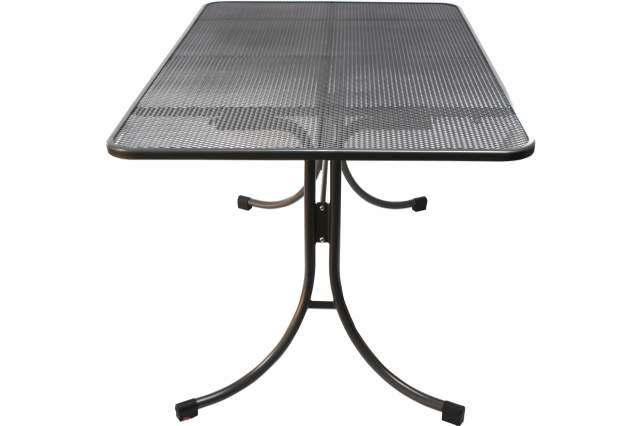 gartentisch mwh 145x90cm eisengrau streckmetall tisch metalltisch rechteckig neu ebay. Black Bedroom Furniture Sets. Home Design Ideas