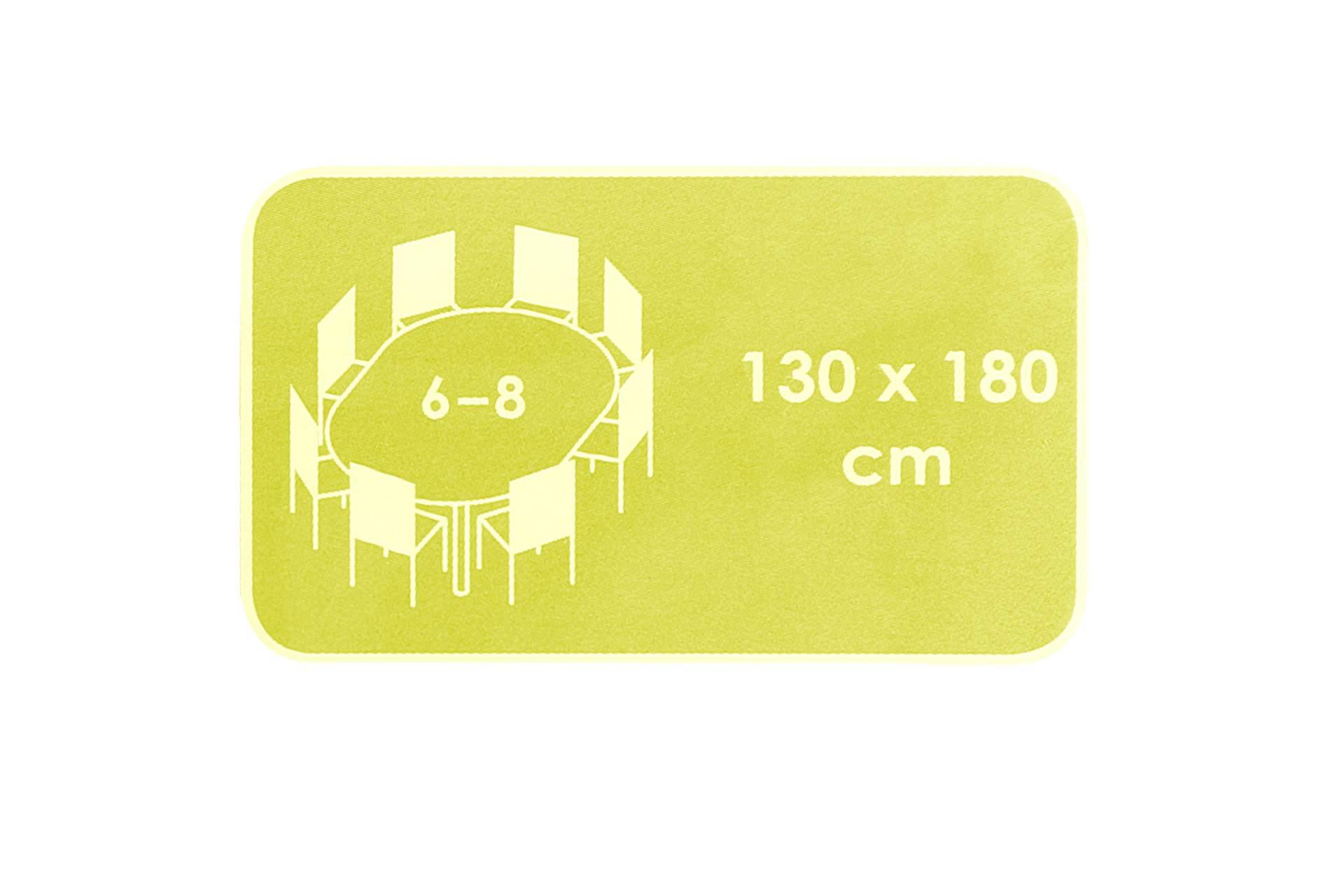 friedola garten tischdecke oval lemon 130 x 180 cm wetterbest ndig tisch decke ebay. Black Bedroom Furniture Sets. Home Design Ideas