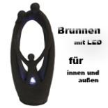 Brunnen LUCTOR LED Fiberglas Zimmer Spring Zier Brunnen