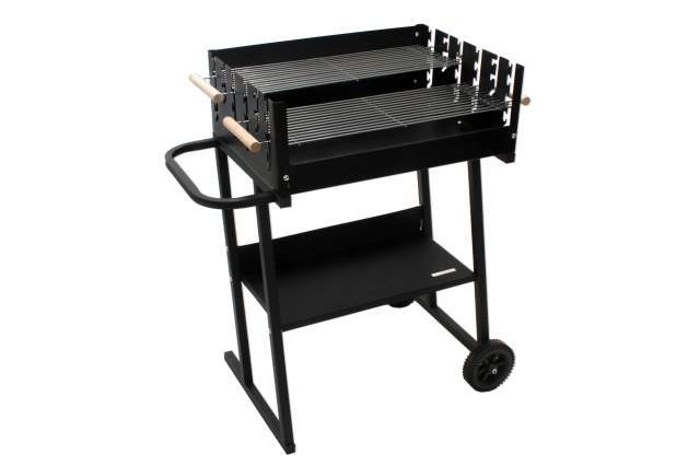 grillwagen kynast grill chill schwarz mit ablage holzkohlegrill holz kohle neu ebay. Black Bedroom Furniture Sets. Home Design Ideas