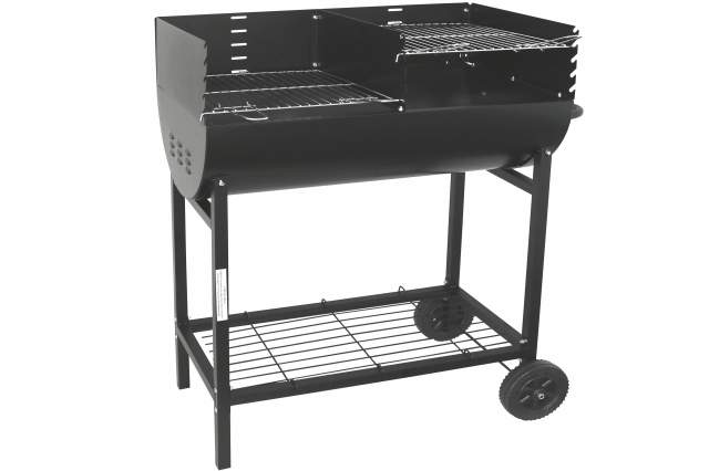 edelstahl kohle bbq standgrill grill holzkohle s ulengrill kynast modell ebay. Black Bedroom Furniture Sets. Home Design Ideas