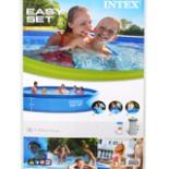 Planschbecken EASY Pool Set 457 x 84 cm INTEX Swimmingpool
