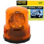 Rundumleuchte Signallampe orange magnetisch 12 V Warnlampe