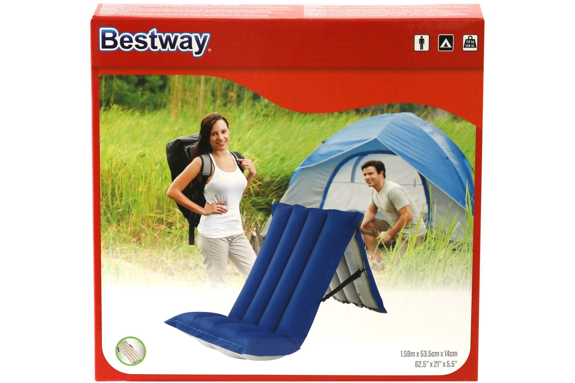 luftmatratze bestway 159 x 53 cm gewebe camping bett matratze luftmatratze luma eur 9 99. Black Bedroom Furniture Sets. Home Design Ideas