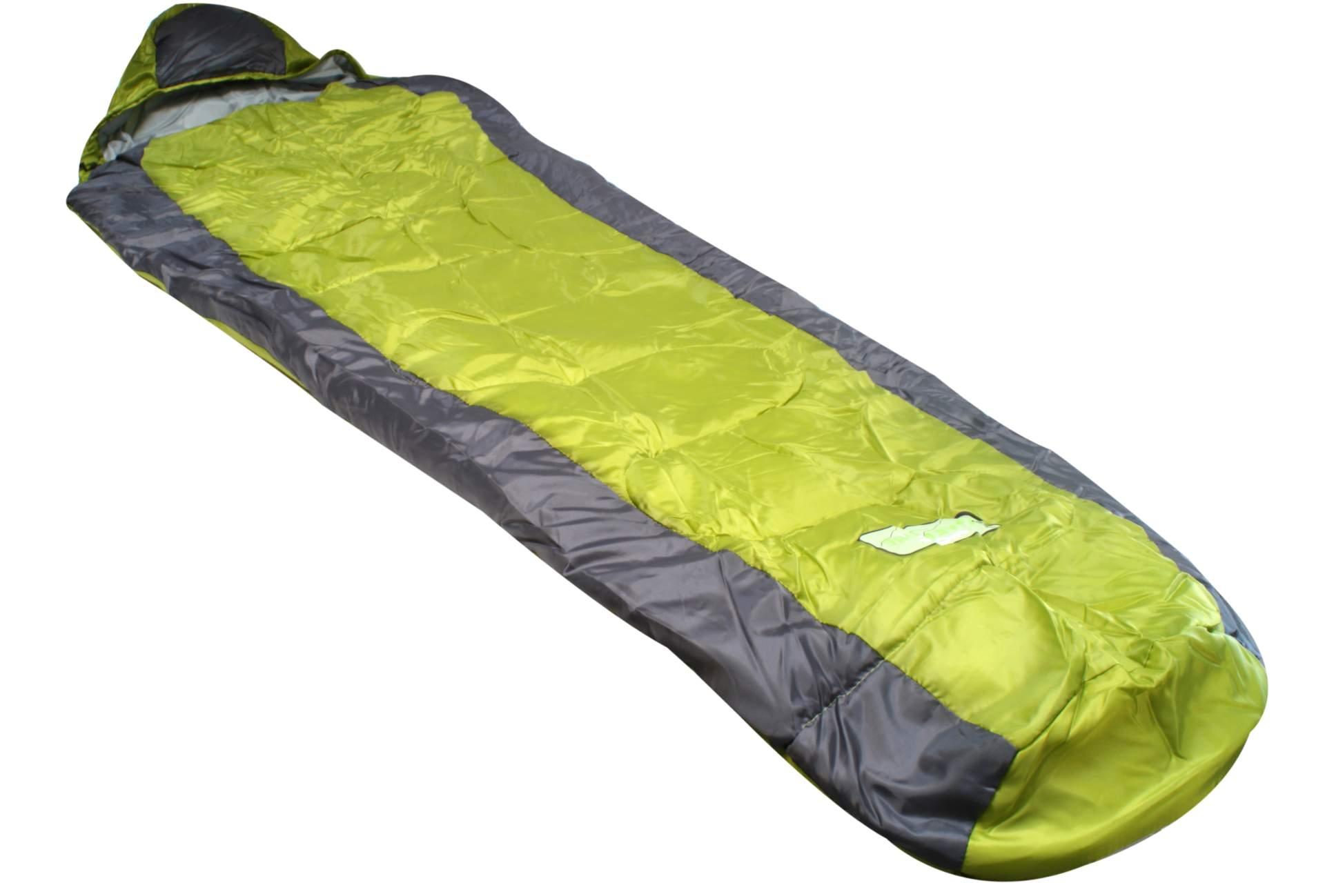 Zelten Ohne Schlafsack : Mumienschlafsack grün grau camping outdoor mumien hütten