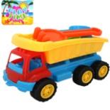 Sandkasten Set LKW blau mit Zubehör 8 tlg. Spielzeug Kipper