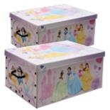 Aufbewahrungsbox Princess 2-er Pack Spielzeug Kiste DISNEY