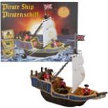 Piratenschiff Kinder Piraten Eddy Toys mit Kanone & Schatz