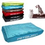 Hundekissen 80 x 120 cm Pet & Joy blau Hundebett Kissen