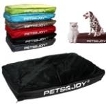Hundekissen 80 x 120 cm Pet & Joy schwarz Hundebett Kissen