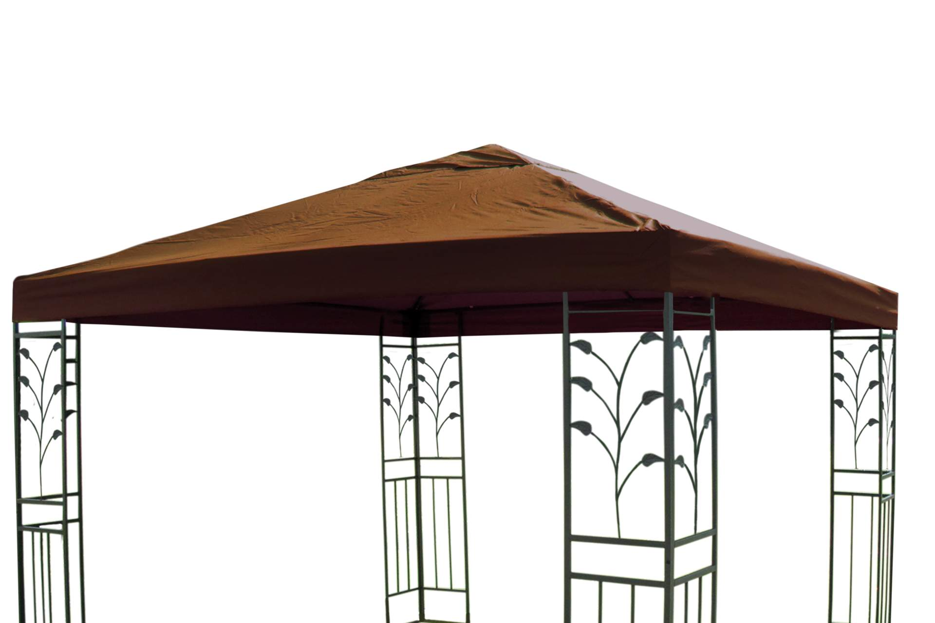 pavillon ersatzdach 3 x 3 m in taupe dach pavillon. Black Bedroom Furniture Sets. Home Design Ideas