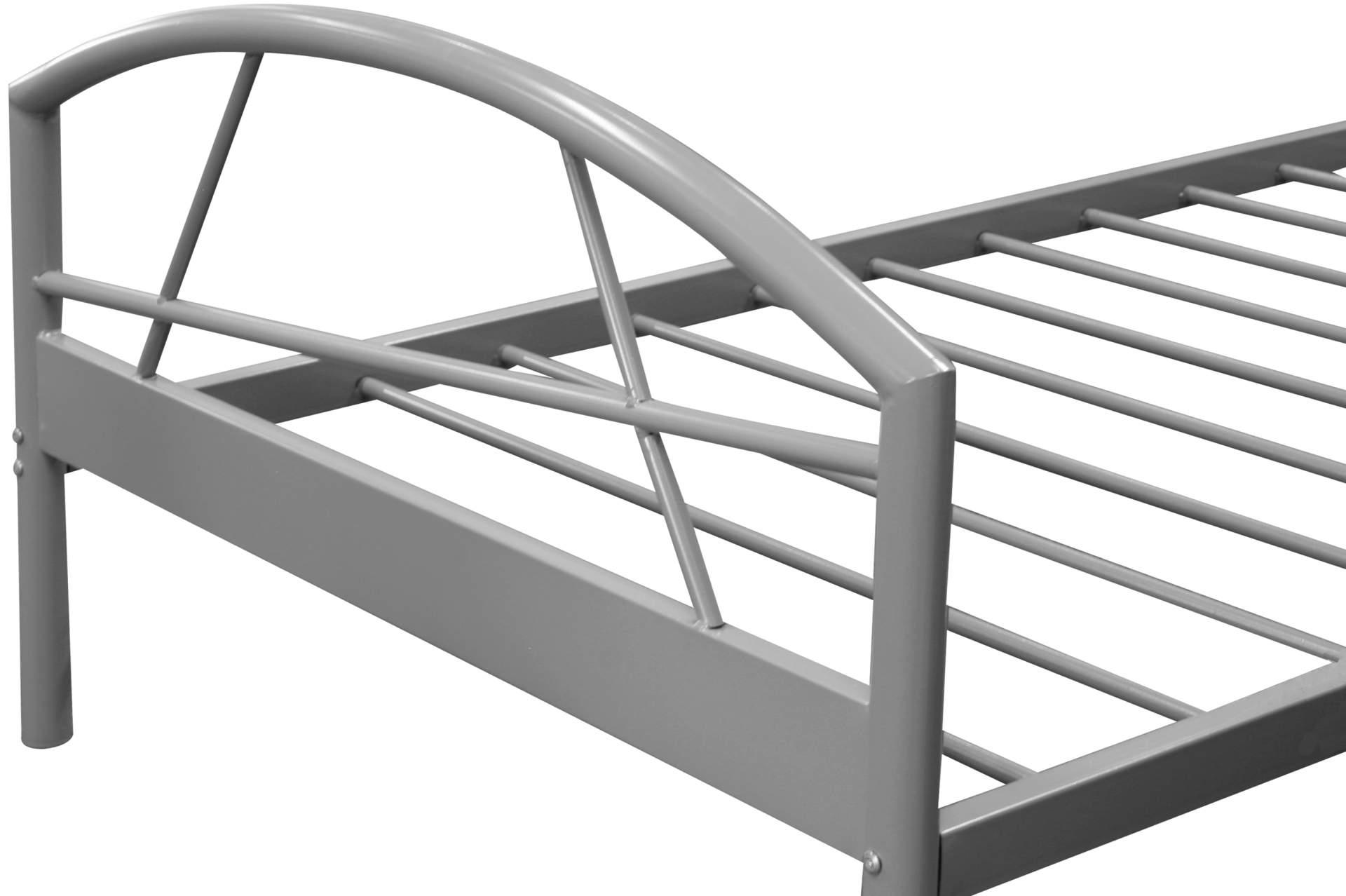 Etagenbett Metall Sconto : Bettgestell aus metall landhaus bett julmatra in