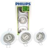 Philips Einbaustrahler Spot Set 3tlg. Weiss Rund