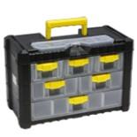 Werkzeug Koffer Sortimentskasten  Multicase 3 Ebenen