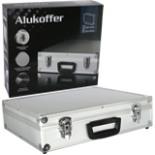 Aluminium Koffer Kiste Universal 46 x 36 x 12cm abschließbar