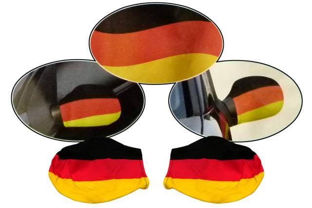 Autospiegelfahne em 2 er set deutschland spiegel fahne for Spiegel und fahne