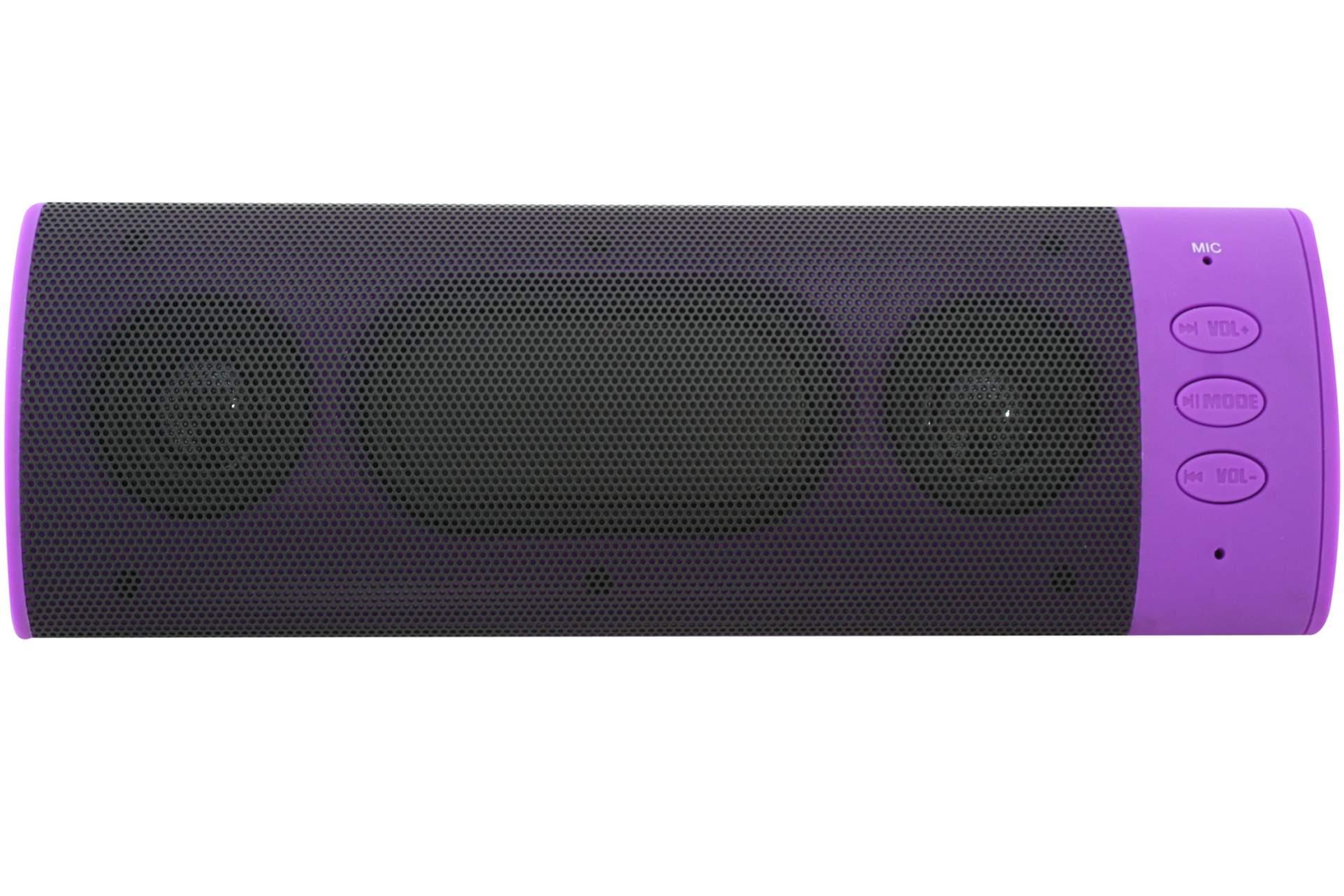 bluetooth lautsprecher handy mini anlage mikro lila schwarz. Black Bedroom Furniture Sets. Home Design Ideas