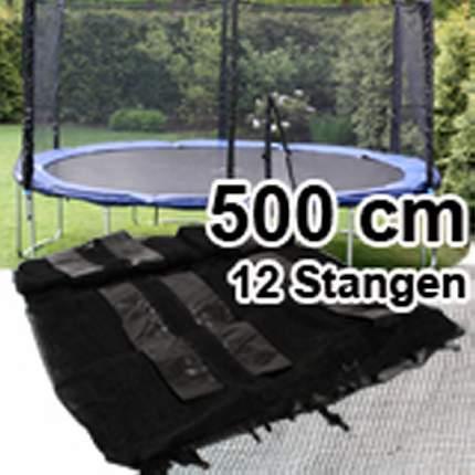 trampolin sicherheits ersatz netz 500 cm 16 ft f r 12 stangen trampolinnetz neu ebay. Black Bedroom Furniture Sets. Home Design Ideas